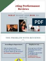 Conducting Performance Reviews 9 2010