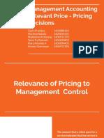 244662_Pertemuan 6_Management Accounting Relevant Price - Pricing Decisions
