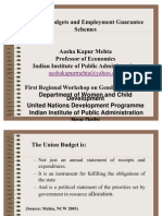 Gender Budgets EGS and NREGA2 AashaKM