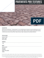 CGAxis PBR Textures Volume 7 - Pavements