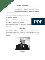 Desarrollo Cognitivo Piaget