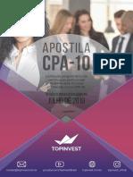 Apostila CPA 10 Top Invest 2019