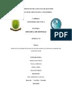 Informe de Dinamica de Sistemas