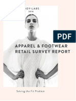 Bodylabs Apparel & Footwear Retail Survey Report - PDF