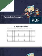 Transactional Analysis PPT