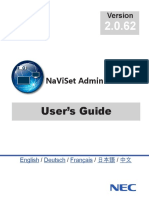 NaViSet Administrator Users Guide