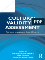 (Language, Culture, And Teaching Series) María Del Rosario Basterra, Elise Trumbull, Guillermo Solano-Flores - Cultural Validity in Assessment_ Addressing Linguistic and Cultural Diversity-Routledge (
