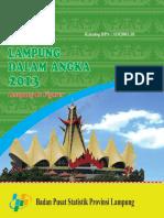 Lampung Dalam Angka 2013
