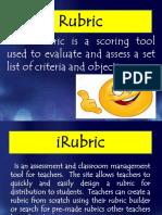 Rubric Making Guide