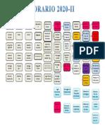 Plan de Estudios 2020-II