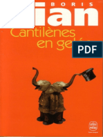 Cantilenes en Gelee - Barnum's - Boris Vian