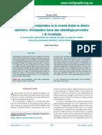 Una Alternativa Restauradora en La Erosión Dental en Dientes Anteriores. Orientándose Hacia Una Odontología Preventiva y de Tecnología