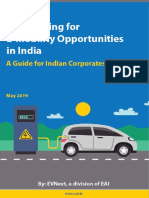 Strategizing for E-mobility Opportunities in India - Actionable Guide From EVNext - May 2019