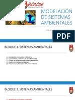 Modelación de sistemas ambientales