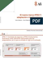 El Nuevo Marco IFRS17_ Adaptación e Implicaciones - Iratxe Galdeano, Socia Responsable Área de Seguros de Afi