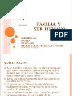 Familia y ser humano