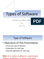 Type of Software