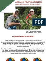 Aula 2 Agricultura Familiar Políticas Públicas