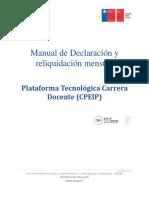 Manual de uso de portal para Declaración y Reliquidación Mensual.pdf