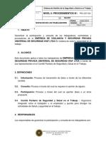 PRC-SST-004 Procedimiento Participación de Los Trabajadores