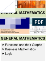 General Mathematics Eduard m Albay