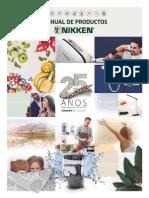 Manual Producto Nikken