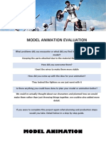 model animation evaluation