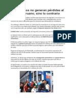 Venezolanos No Generan Pérdidas Al Estado Peruano