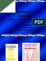 Anatomia Dentaria Generalidades