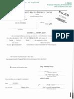 Forsberg Criminal Complaint