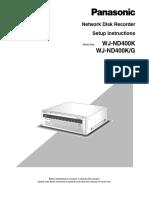 Instructivo WJ-ND400K English