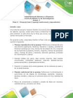 Anexo 1. Fase 2 Manejo Nutricional y Reproductivo