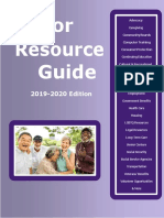 Senator Krueger's Senior Resource Guide, 2019-2020