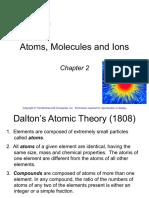 2. Atoms, Molecules, Ions