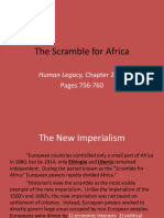 Ch 25.3 the Scramble for Africa