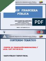 Fuentes de Fin. y Gasto Público
