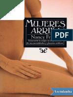 Mujeres Arriba - Nancy Friday