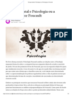 Resenha Doença Mental e Psicologia Foucault 04 Pag.