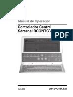 Manual de Controlador TRANE