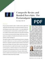 Composite Resins and la nueva era  postamalgama  PASCAL MAGNE.pdf