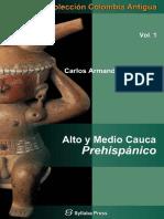 Alto y Medio Cauca Prehispanico