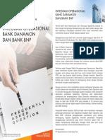 Faq Integrasi Operasional Bank Danamon Dan Bank Bnp