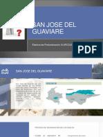 problemática San Jose del Guaviare