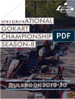 Rulebook go-kart championship season 8