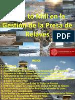 4. Mine to Mill en la Gestión de la Presa de Relaves.pdf