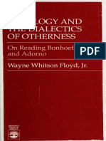 Levinas and Adorno theology
