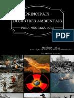 acidentes ambientais