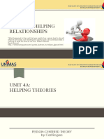 Unit 4a - Helping Theories Feb 2017
