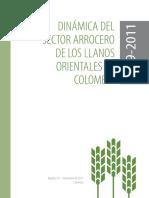 Dinamica Del Sector Arrocero en Los Llanos Orientales