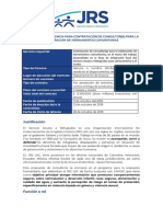 Tdr Consultor Herramientas Comunitarias Unicef